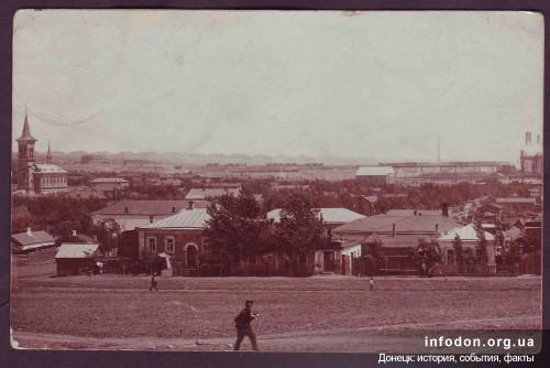 Енакиево, Бахмутский уезд. Дома служащих Петровских заводов