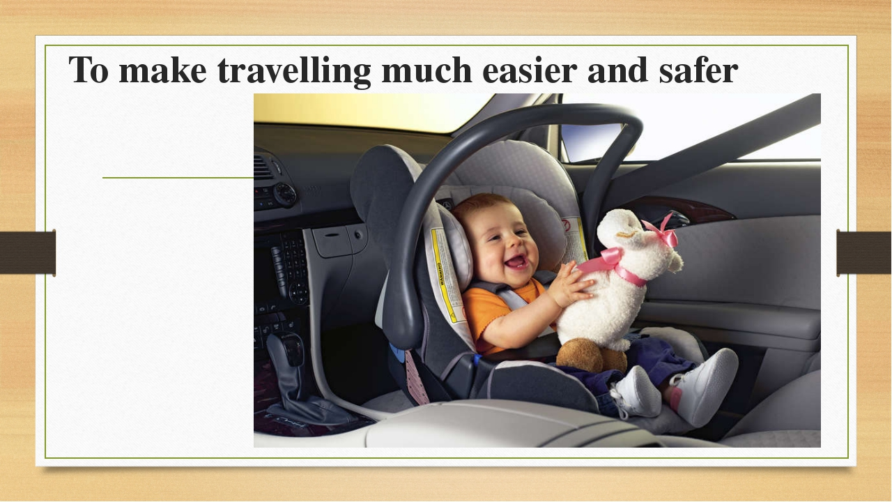 To make travelling much easier and safer