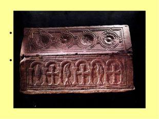 Напольная мозаика. Периферия храма выложена из плиток, алтарь, подкупольная ч