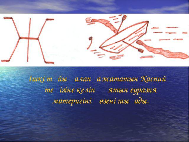 Ішкі тұйық алапқа жататын Каспий теңізіне келіп құятын еуразия материгінің өз...
