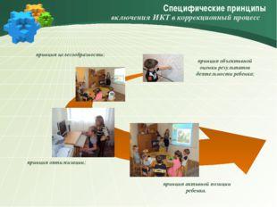 Специфические принципы принцип активной позиции ребенка. принцип объективной