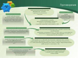 Противоречия недостаточной разработанностью Методических аспектов T коррекци