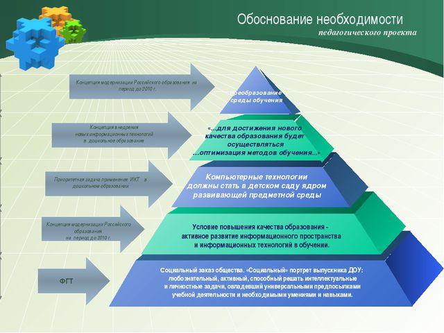 Концепция модернизации Российского образования на период до 2010 г. ФГТ Прио...