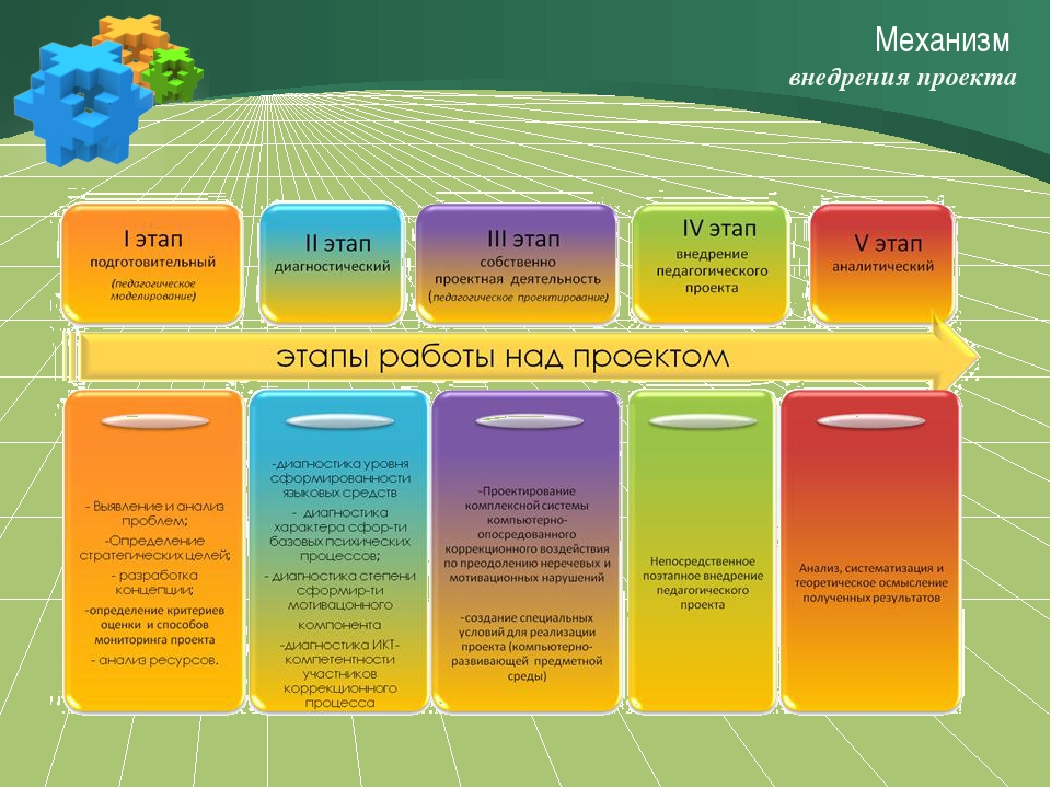 Механизм внедрения проекта