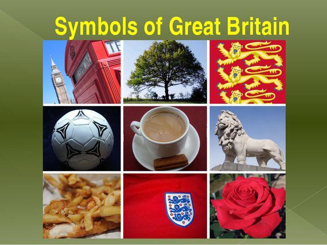 Symbols of Great Britain
