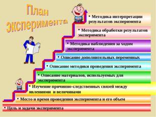 Цель и задачи эксперимента Изучение причинно-следственных связей между явлен