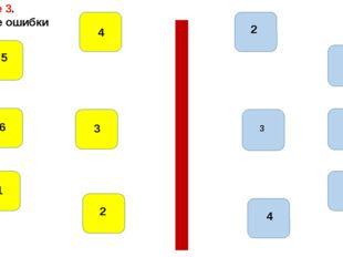 1 1 2 3 4 5 6 1 2 3 4 5 6 Задание 3. Найдите ошибки