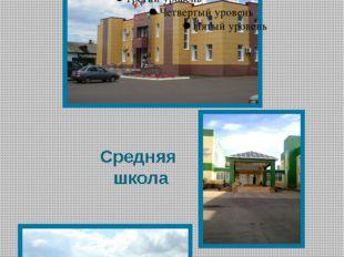 Здание администрации Бутурлиновского района. Средняя школа Спортивный комплекс