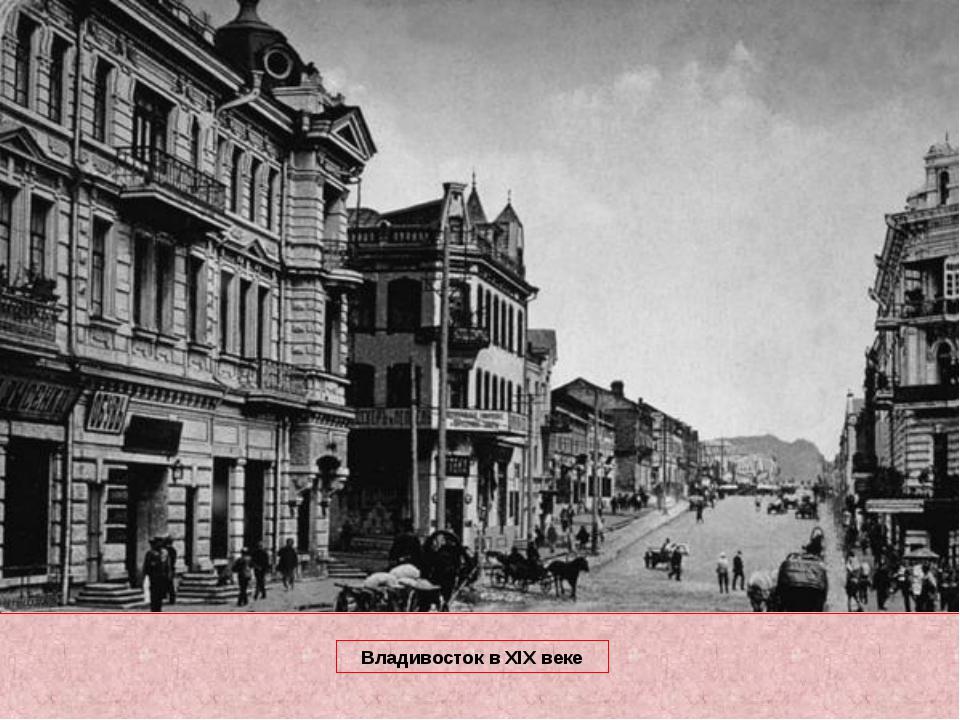 Владивосток в XIX веке