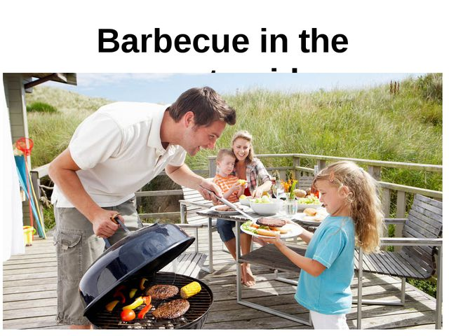 Barbecue in the countryside