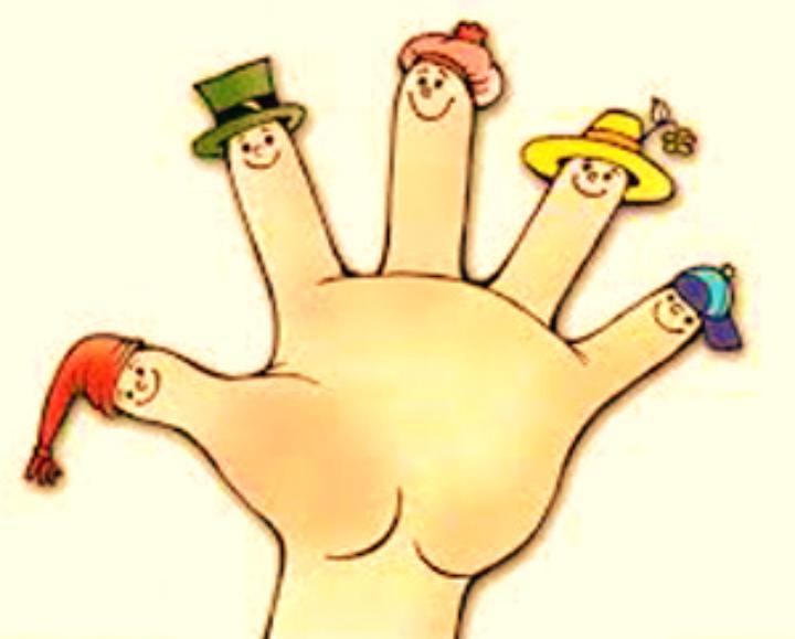 Пальчиковые игры картинки мультяшные