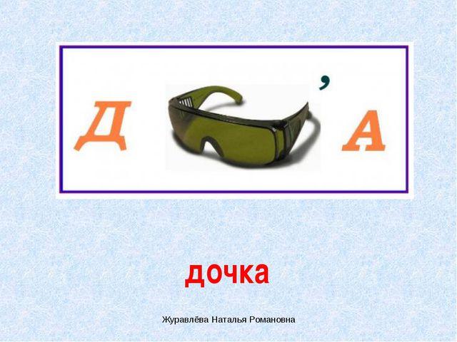 дочка Журавлёва Наталья Романовна Журавлёва Наталья Романовна