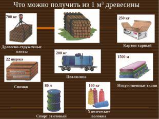 Что можно получить из 1 м3 древесины Древесно-стружечные плиты 700 кг 250 кг