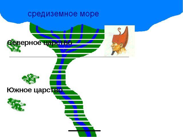 * Северное царство Южное царство