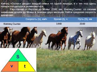 Князец «Сылас» раздал каждой семье по одной лошади, и с тех пор здесь начали