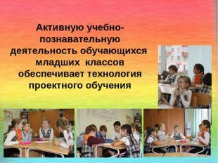 Активную учебно-познавательную деятельность обучающихся младших классов обес