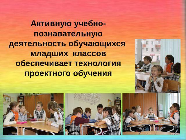 Активную учебно-познавательную деятельность обучающихся младших классов обес...