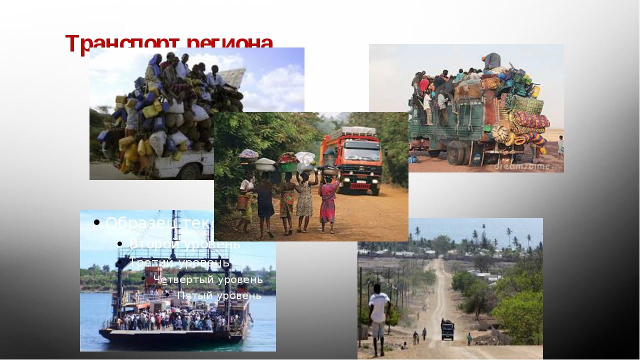 Транспорт региона