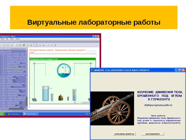 Виртуальные лабораторные работы