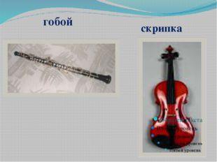 гобой скрипка Ксилофон Флейта Тромбон