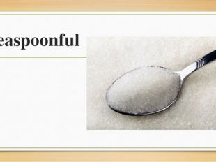 teaspoonful