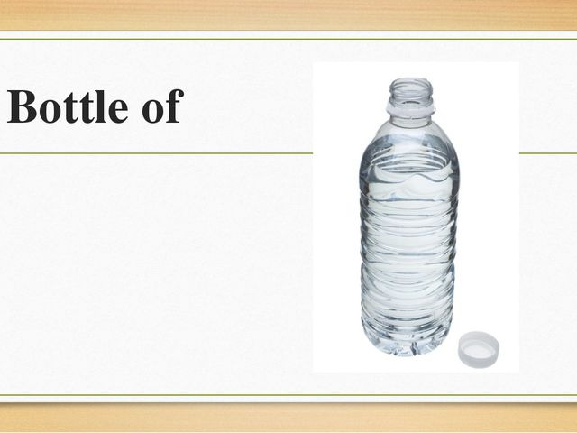 Bottle of