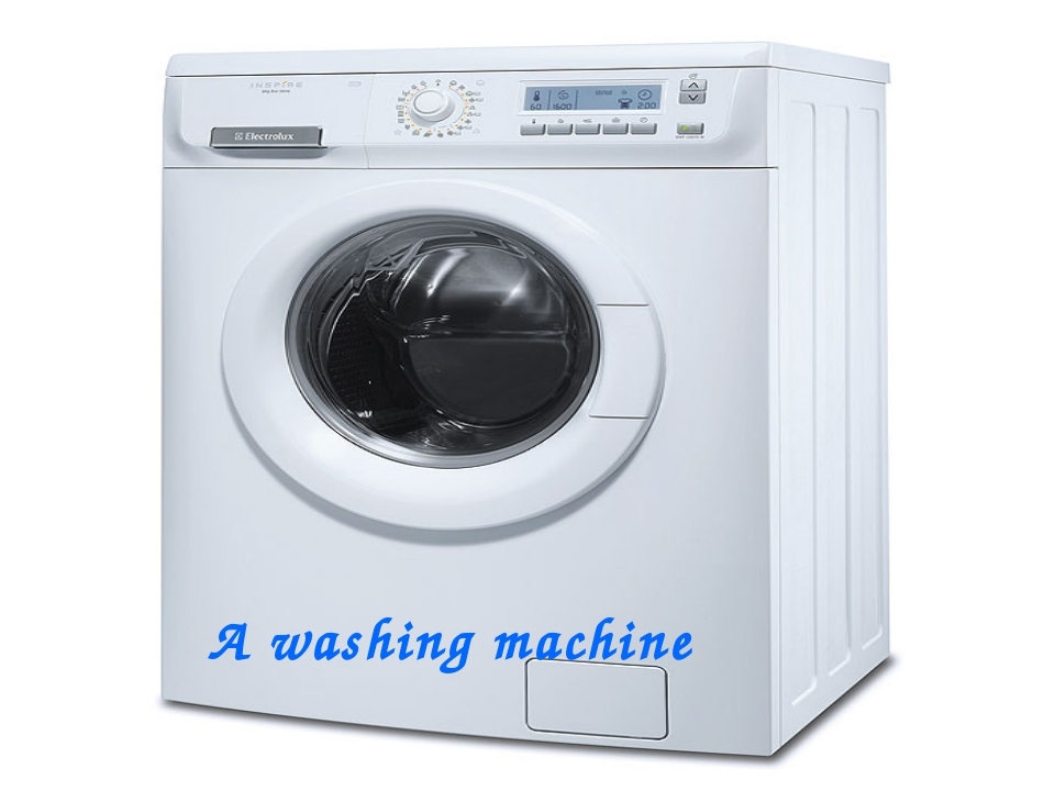 A washing machine