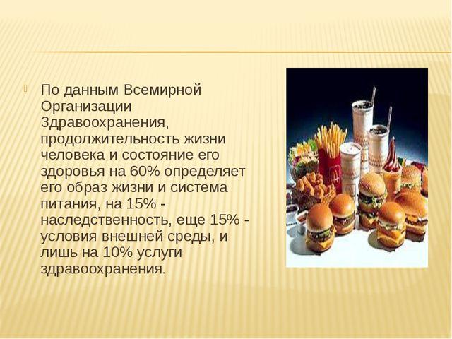 По данным Всемирной Организации Здравоохранения, продолжительность жизни чело...