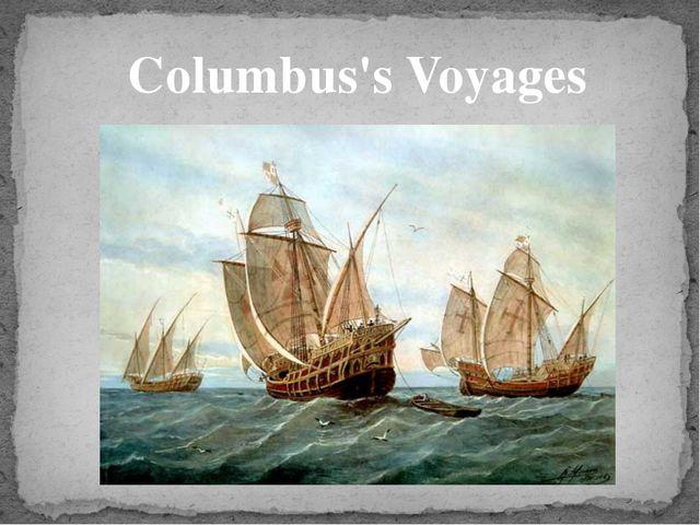 Columbus's Voyages