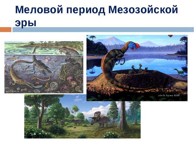 Меловой период Мезозойской эры