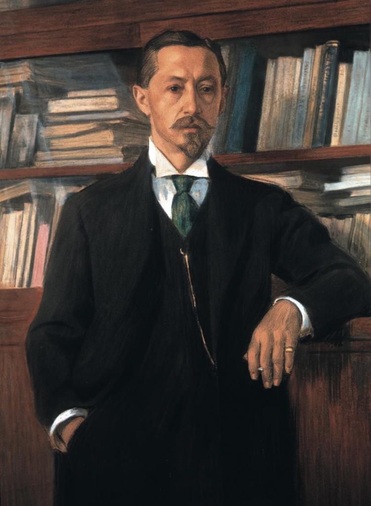И.А.Бунин. Портрет работы В.И.Россинского, 1915 г.