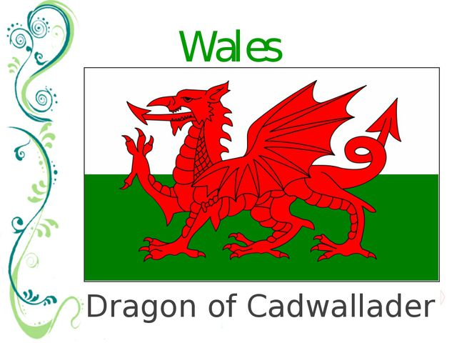 Dragon of Cadwallader Wales There are many legends and myths (мифы) about the...