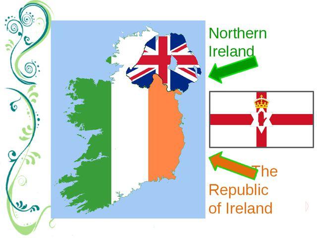 The Republic of Ireland Northern Ireland Легенда о «Красной руке Ольстера» н...