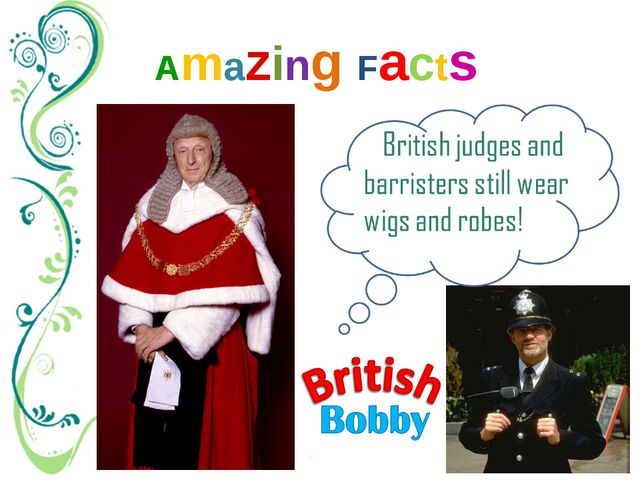 Amazing Facts British policemen still wear a uniform, introduced several cent...