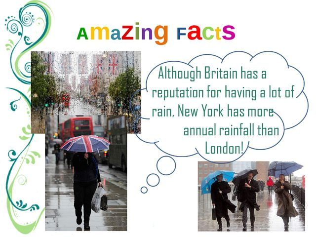Amazing Facts Rain picture