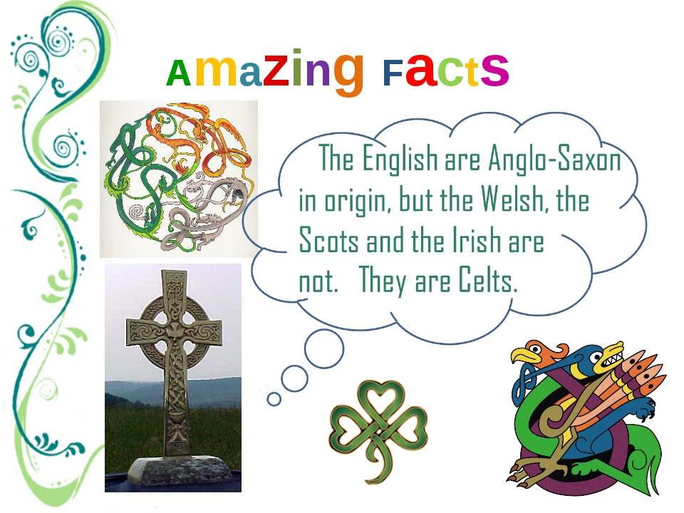 Amazing Facts Celts are tribes that lived on the territory of the British Isl...