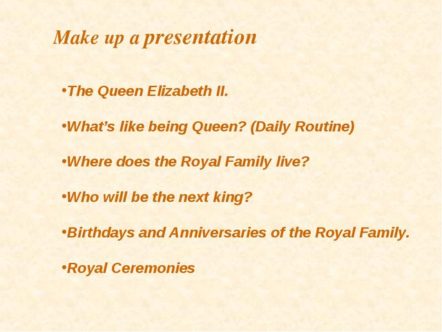 The Queen Elizabeth II. What's like being Queen? (Daily Routine) Where does t...