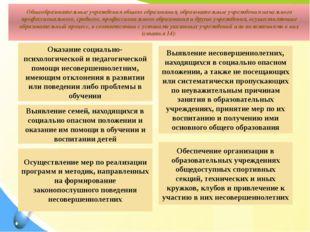 Общеобразовательные учреждения общего образования, образовательные учреждения