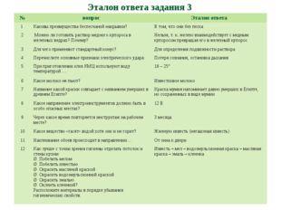 Эталон ответа задания 3 №вопросЭталон ответа 1 Каковы преимущества беспесч