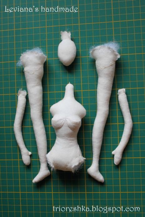 Корейская кукла своими руками 24