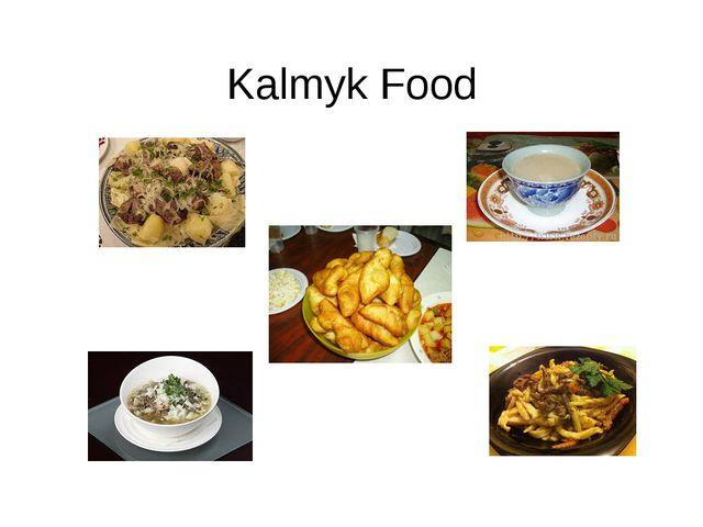 Kalmyk Food