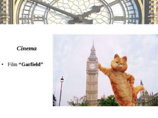 "Cinema Film ""Garfield"""