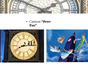"""Cartoon """"Peter Pan"""""""