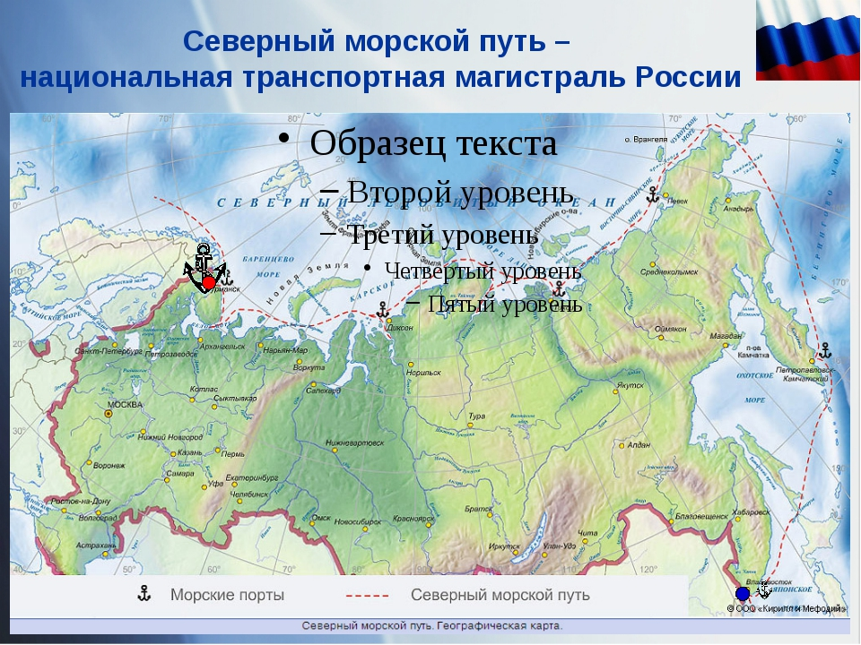 Северный морской путь – национальная транспортная магистраль России