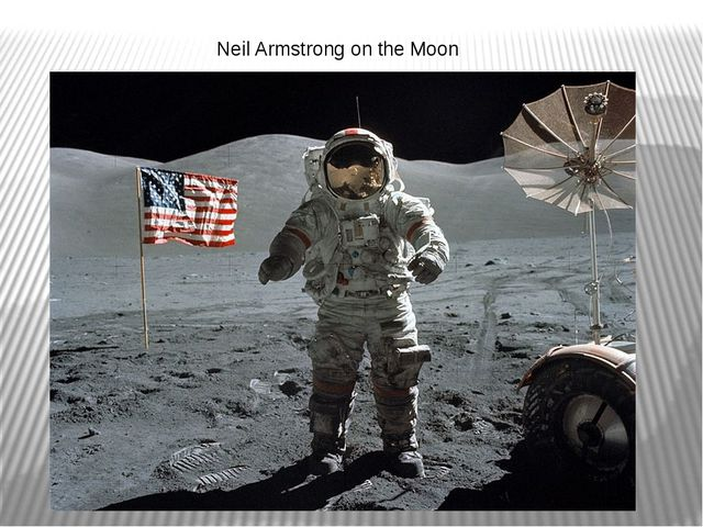 Neil Armstrong on the Moon