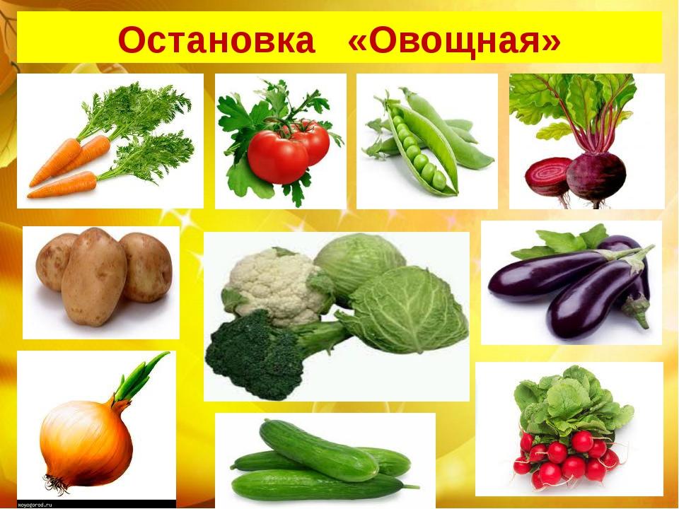Остановка «Овощная»