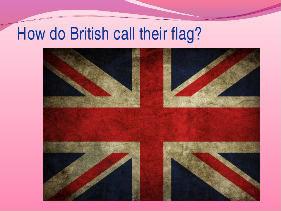 How do British call their flag?
