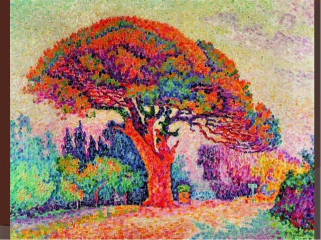 pointillism English examples for pointillism - seurat and his pointillism style played a major role in his formation as an artist note: pointillism merely describes the technique of painting used during this period.