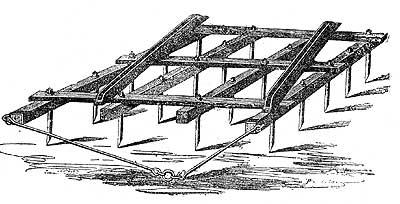 Пример деревянной бороны