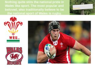 Nothing quite stirs the national pride in Wales like sport. The most popular